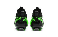 Puma PUMA ONE 19.1 FG/AG Soccer Cleats JRGreen Gecko-Black-Gray Outlet Sale