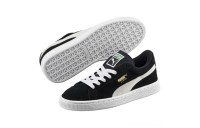 Puma Suede Jrblack-white Outlet Sale