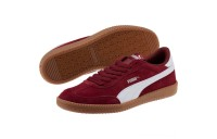 Puma Astro Cup Suede Sneakers Pomegranate- White Outlet Sale