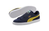 Black Friday 2020 Puma Suede Classic Sneakers Peacoat-Blazing Yellow Outlet Sale