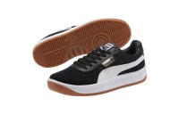 Puma California Casual Sneakers Black- White Outlet Sale