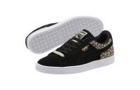 Black Friday 2020 Puma Suede Wild Qtr Women's Sneakers Black- Team Gold Outlet Sale
