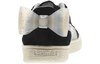 Puma Suede Jelly Bow Sneakers JR Black-Glac Gray-Silver Outlet Sale