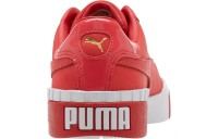 Black Friday 2020 Puma Cali Nubuck Women's Sneakers Hibiscus - White Outlet Sale