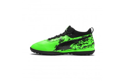 Black Friday 2020 Puma PUMA ONE 19.3 TT Men's Soccer CleatsGreen Gecko-Black-Gray Outlet Sale
