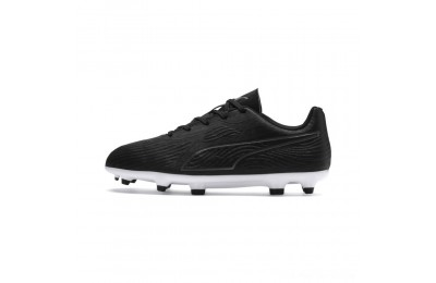 Puma PUMA ONE 19.4 FG/AG Soccer Cleats JR Black- Black-White Outlet Sale