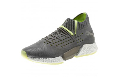 Puma FUTURE Rocket Men's Running Shoes Aged Silver-Gray-Yellow Outlet Sale