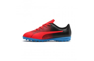 Puma PUMA Spirit II TT JrRed Blast-Black-Bleu Azur Outlet Sale