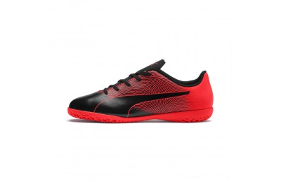 Puma PUMA Spirit II IT Jr Black-Red Blast Outlet Sale