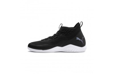Black Friday 2020 Puma 365 IGNITE Fuse E1 Men's Soccer Shoes Black-Asphalt- White Outlet Sale