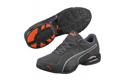 Black Friday 2020 Puma Cell Surin 2 Matte Men's Training Shoes Asphalt-Blk-Shocking Orange Outlet Sale
