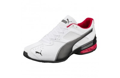 Puma Tazon 6 FM Men's Sneakers White-Black-puma silver Outlet Sale