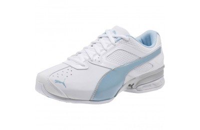 Black Friday 2020 Puma Tazon 6 Wide Women's Sneakers White-CERULEAN-Silver Outlet Sale