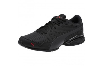Black Friday 2020 Puma Tazon Modern SL FM Men's Sneakers Black-high risk red Outlet Sale