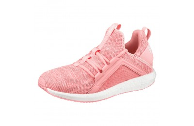 Puma Mega NRGY Knit Women's TrainersSoft Fluo Peach- White Outlet Sale