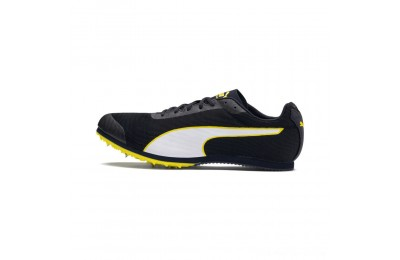 Puma evoSPEED Star 6 Men's Track SpikesPeacoat- Black-Yellow Outlet Sale