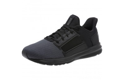 Puma Enzo Street Men's Running Shoes Black-Iron Gate-Aged Silver Outlet Sale
