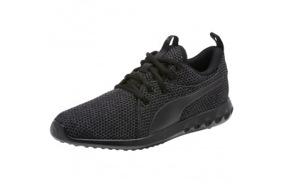 Black Friday 2020 Puma Carson 2 Nature Knit Women's Running Shoes Periscope- Black Outlet Sale