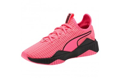 Puma Defy Women's Sneakers KNOCKOUT PINK- Black Outlet Sale