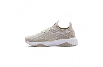 Puma Defy Women's Sneakers Silver Gray- White Outlet Sale