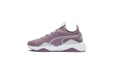 Black Friday 2020 Puma Defy Women's Sneakers Elderberry- White Outlet Sale