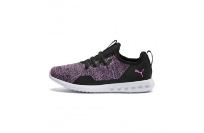 Puma Carson 2 X Knit Women's Running Shoes Black-Orchid Outlet Sale
