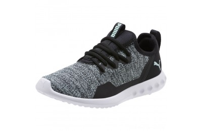Black Friday 2020 Puma Carson 2 X Knit Women's Running Shoes Black-Fair Aqua Outlet Sale