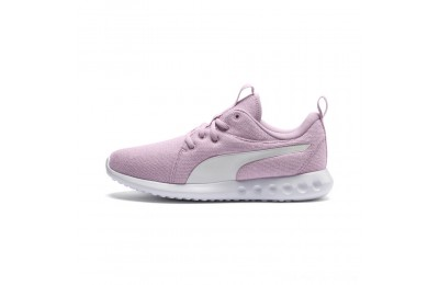 Black Friday 2020 Puma Carson 2 Knit Women's Running Shoes Winsome Orchid- White Outlet Sale