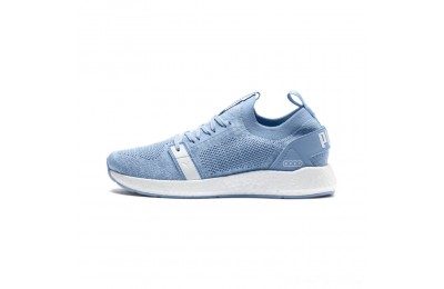 Black Friday 2020 Puma NRGY Neko Engineer Knit Women's Training Shoes CERULEAN- White Outlet Sale