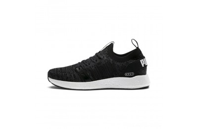 Black Friday 2020 Puma NRGY Neko Engineer Knit Men's Running Shoes Black-Iron Gate Outlet Sale