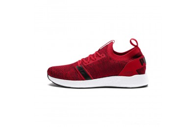 Puma NRGY Neko Engineer Knit Men's Running Shoes Ribbon Red-White-Black Outlet Sale