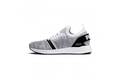 Black Friday 2020 Puma NRGY Neko Engineer Knit Men's Running Shoes White- Black Outlet Sale