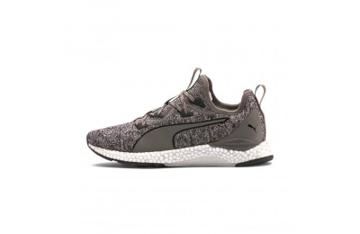 Black Friday 2020 Puma HYBRID Runner Men's Running Shoes Charcoal Gray- White Outlet Sale