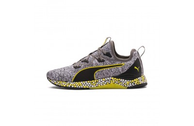 Puma HYBRID Runner Men's Running Shoes Black-White-Blazing Yellow Outlet Sale
