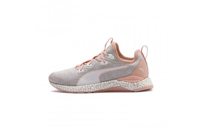 Black Friday 2020 Puma HYBRID Runner Women's Running Shoes Glacier Gray-Peach Bud Outlet Sale