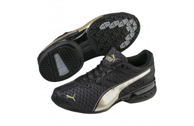 Puma Tazon 6 Luxe Women's Sneakers Black- Team Gold Outlet Sale