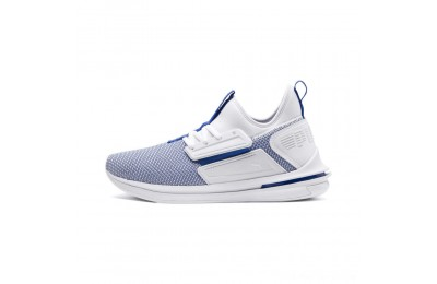 Puma IGNITE Limitless SR New School Sneakers White-Strong Blue Outlet Sale