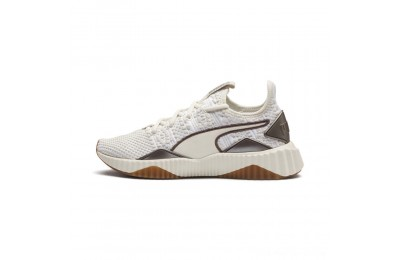 Puma Defy Luxe Women's Sneakers Whisper White-Metallic Ash Outlet Sale