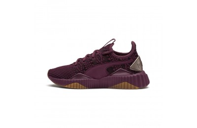 Puma Defy Luxe Women's Sneakers Fig-Metallic Ash Outlet Sale