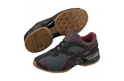 Puma Tazon 6 Heather Rip Sneakers JRIron Gate-Black-Pomegranate Outlet Sale
