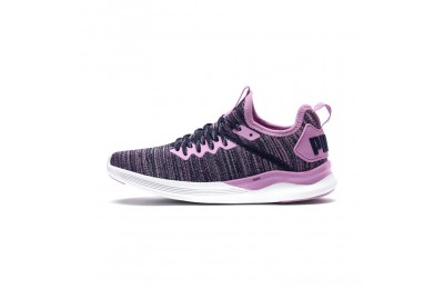 Puma IGNITE Flash evoKNIT Sneakers JROrchid-Peacoat Outlet Sale