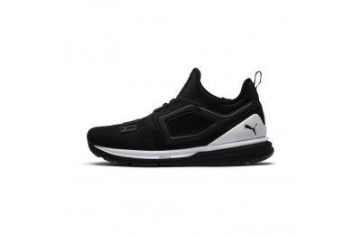 Puma IGNITE Limitless 2 Women's Running Shoes Black- White Outlet Sale