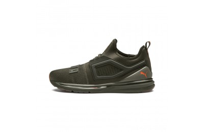 Puma IGNITE Limitless 2 Unrest Running Shoes Forest Night-Firecracker Outlet Sale