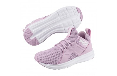 Puma Enzo Weave Women's Sneakers Winsome Orchid- White Outlet Sale