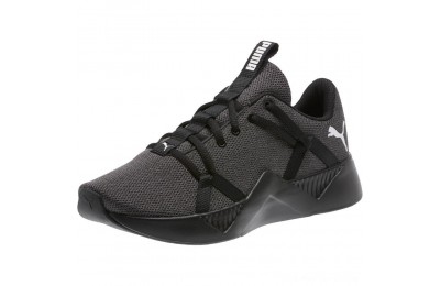 Puma Incite Knit Women's Training Shoes Black Outlet Sale