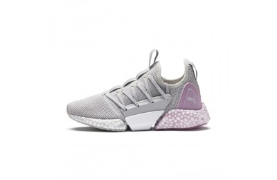 Puma HYBRID Rocket Runner Women's Running Shoes GlacierGry-WinsmOrchid-White Outlet Sale