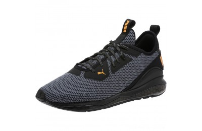Black Friday 2020 Puma Cell Descend Men's Running Shoes Black-Orange Pop Outlet Sale