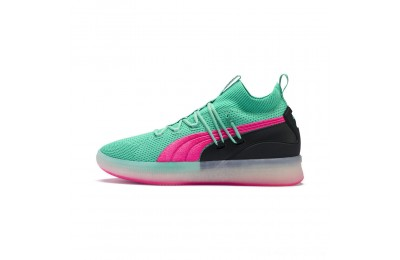 Puma Clyde Court Basketball Shoes Biscay Green Outlet Sale
