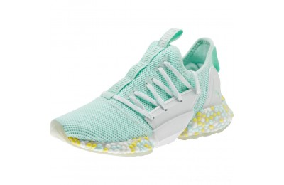 Puma HYBRID Rocket Runner JRFairAqua-White-BlazingYellow Outlet Sale