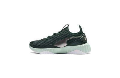 Puma DEFY Trailblazer Women's Sneakers Ponderosa Pine-Fair Aqua Outlet Sale